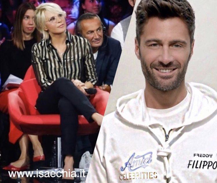 Amici Celebrities, De Filippi contro Filippo Bisciglia: Guarda che litighiamo