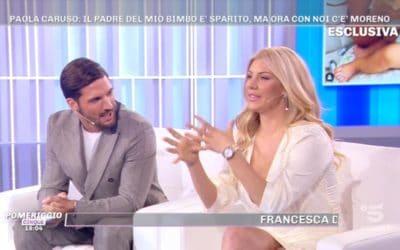 Pomeriggio 5 - Moreno Merlo e Paola Caruso