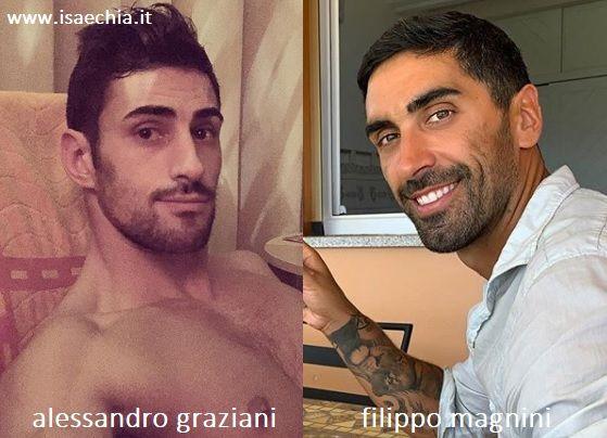 Somiglianza tra Alessandro Graziani e Filippo Magnini