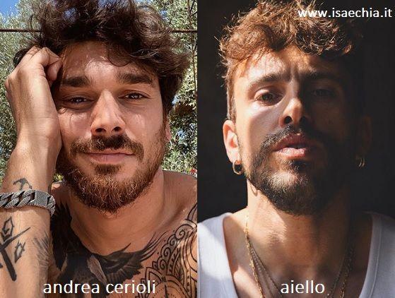 Somiglianza tra Andrea Cerioli e Aiello