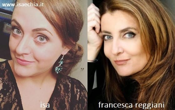 Somiglianza tra Isa e Francesca Reggiani