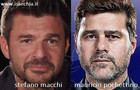 Somiglianza tra Stefano Macchi e Mauricio Pochettino