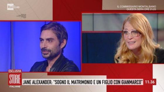 Storie Italiane - Jane Alexander e Gianmarco Amicarelli