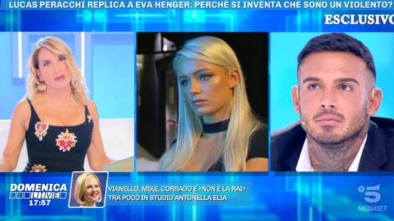 Domenica Live - Mercedesz Henger e Lucas Peracchi