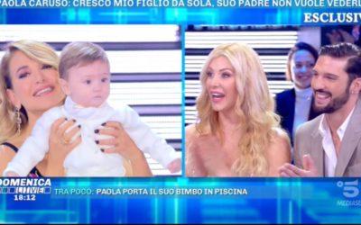 Domenica Live - Paola Caruso e Moreno Merlo
