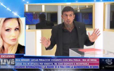 Live - Non è la D'Urso - Lucas Peracchi