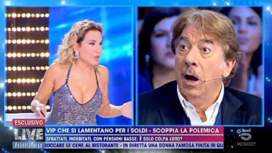 Live - Non è la D'Urso - Marco Columbro, Barbara D'Urso