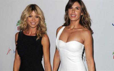 Maddalena Corvaglia e Elisabetta Canalis