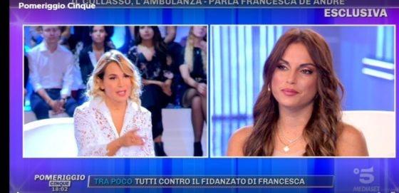 Pomeriggio Cinque - Francesca De Andrè