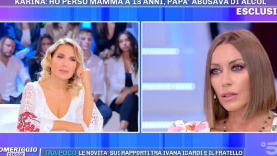 Pomeriggio Cinque - Karina Cascella