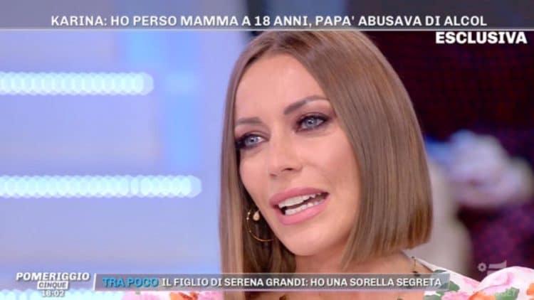 Pomeriggio Cinque, Karina Cascella straziata: il ricordo che ha commosso Barbara D'Urso