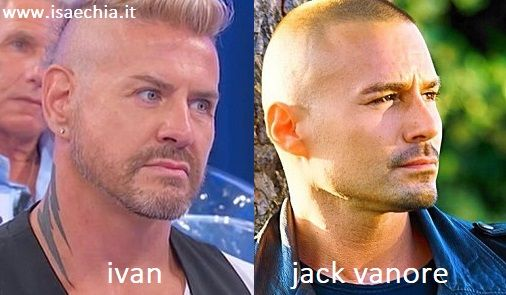Somiglianza tra Ivan e Jack Vanore