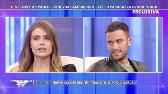 Pomeriggio 5 - Ginevra Lambrusci, Pierpaolo Pretelli