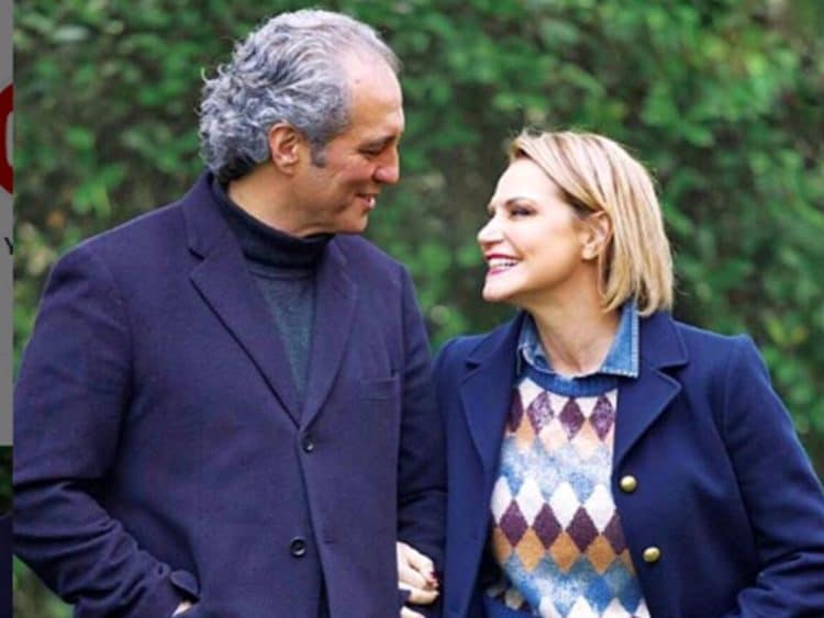 Stefano Bettarini testimone di nozze dell'ex moglie Simona Ventura