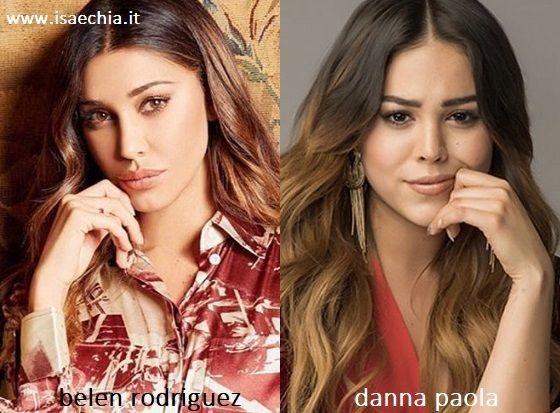 Somiglianza tra Belen Rodriguez e Lucrecia di 'Elite'