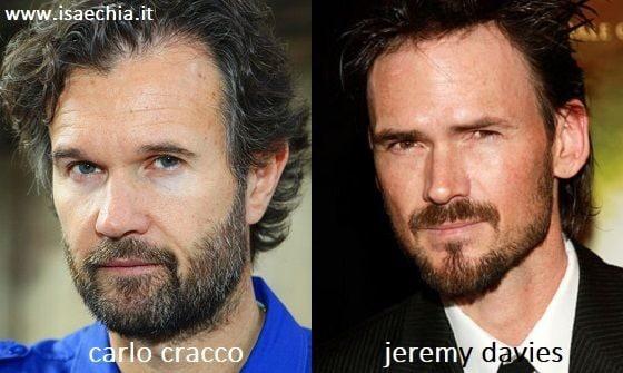 Somiglianza tra Carlo Cracco e Jeremy Davies