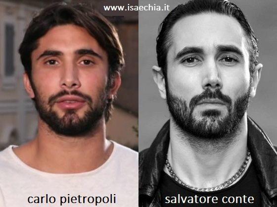 Somiglianza tra Carlo Pietropoli e Salvatore Conte di 'Gomorra'