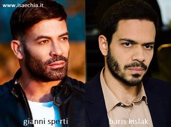 Somiglianza tra Gianni Sperti e Baris Kislak