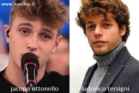 Somiglianza tra Jacopo Ottonello di 'Amici 19' e Ludovico Tersigni di 'Skam Italia'