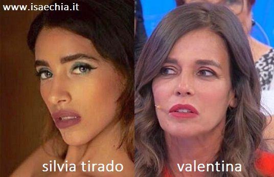 Somiglianza tra Veronica Fedolfi e Sabrina Martinengo