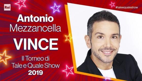 Tale e Quale Show - Antonio Mezzancella