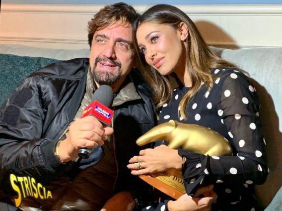 Valerio Staffelli e Belen Rodriguez