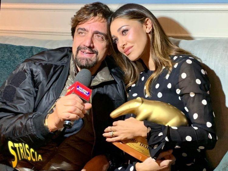 Tapiro d'Oro a Belen per il presunto flirt con Andrea Damante