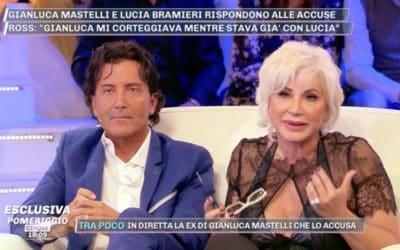Gianluca Mastelli e Lucia Bramieri