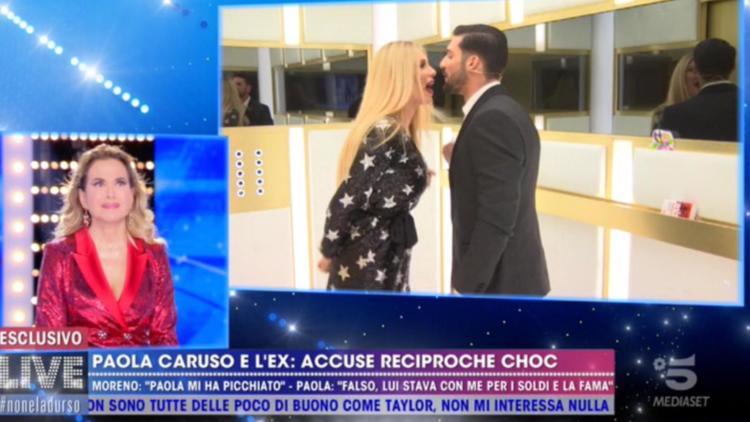 """Risultato immagini per Paola Caruso e Moreno Merlo live non è la d'urso"""""""