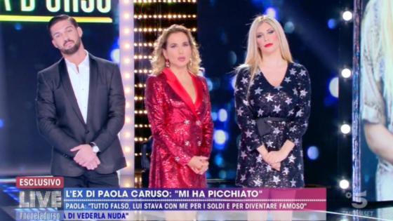 Live - Non è la D'urso - Paola Caruso, Moreno Merlo e Barbara D'Urso