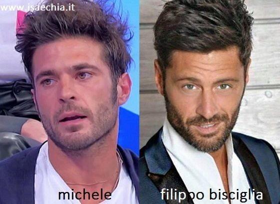 Somiglianza tra Michele e Filippo Bisciglia