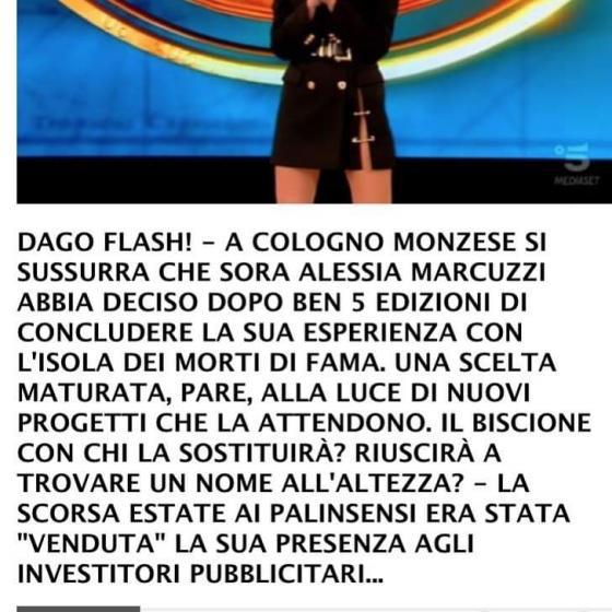 Dagospia - Alessia Marcuzzi