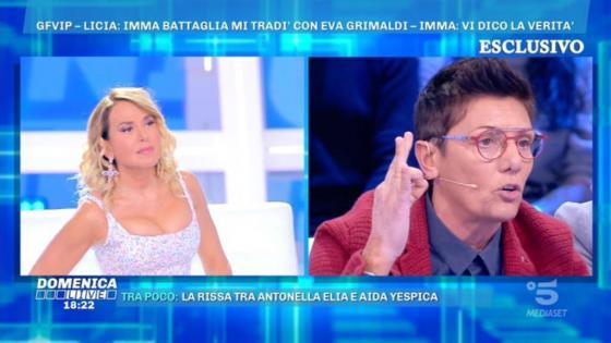 Domenica Live - Imma Battaglia