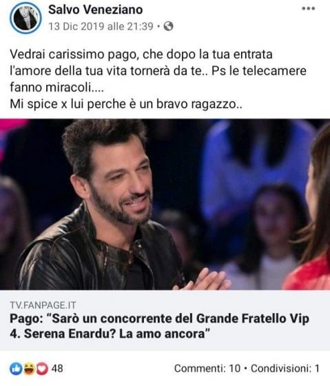 Facebook- Veneziano