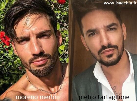 Somiglianza tra Moreno Merlo e Pietro Tartaglione