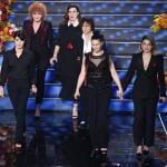 Emma, Giorgia, Gianna Nannini, Laura Pausini, Fiorella Mannoia e Elisa