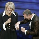Sanremo - Amadeus e Fiorello