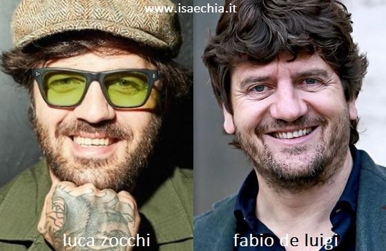 Somiglianza tra Luca Zocchi e Fabio De Luigi