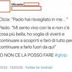 Twitter - Clizia e Paolo