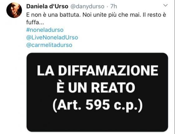 Twitter D'Urso
