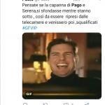 Twitter - Grande Fratello Vip, Pago e Serena