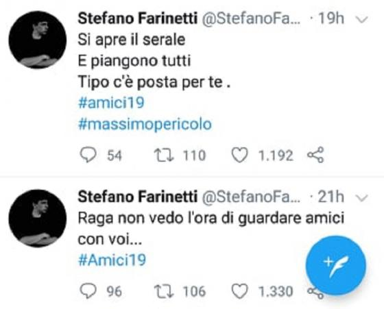 Twitter - Stefano Farinetti