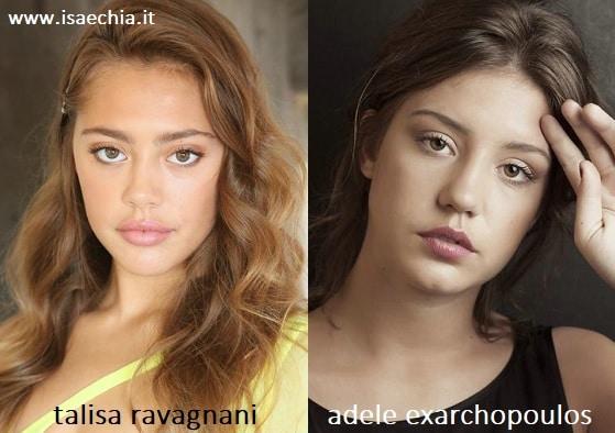 Somiglianza tra Talisa Ravagnani e Adèle Exarchopoulos