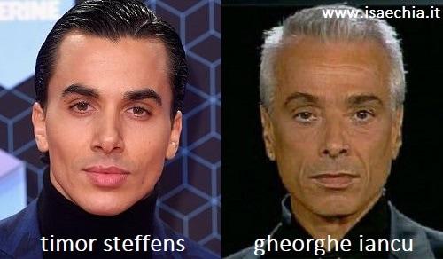 Somiglianza tra Timor Steffens e Gheorghe Iancu