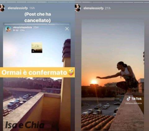Instagram - Alessio, Elena