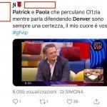 Twitter - Paolo e Clizia