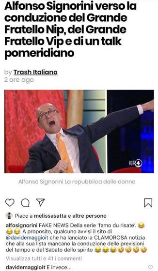 Instagram - Signorini