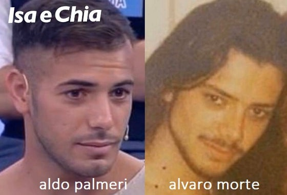 Somiglianza tra Aldo Palmeri e Alvaro Morte