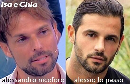 Somiglianza tra Alessandro Niceforo e Alessio Lo Passo