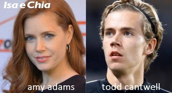 Somiglianza tra Amy Adams e Todd Cantwell